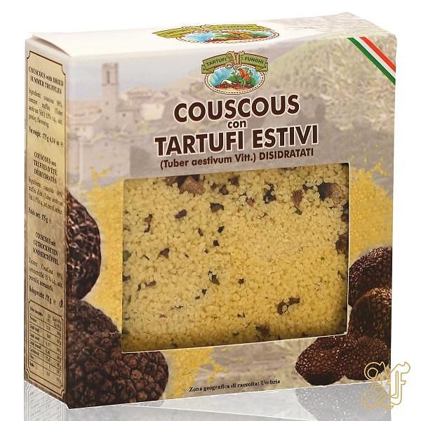 cous cous con tartufi estivi