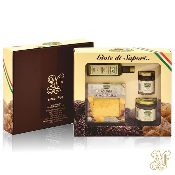 confezione degustazione prodotti ai tartufi
