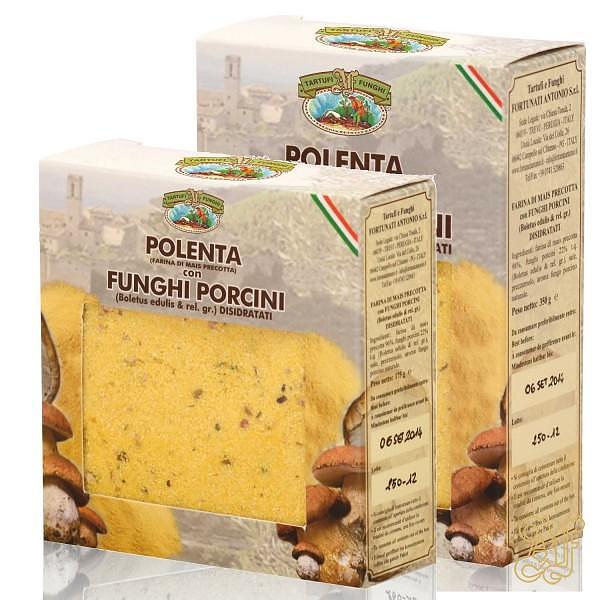 Polenta with Porcini Mushrooms - Antonio Fortunati Tartufi e Funghi