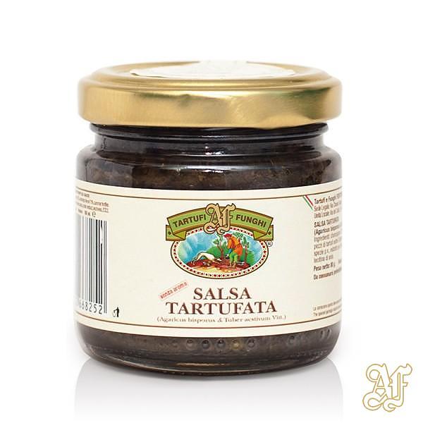 salsa tartufata senza aromi 80 gr