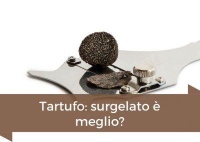 tartufo surgelato